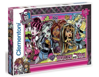 Clementoni 33C30119 - Puzzle Monster High 500ks - Báječné Monster