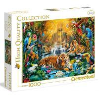 Clementoni Puzzle 1000 dílků Mystic Tigers