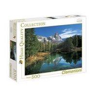 Clementoni Puzzle  Jezero Laka 500 dílků