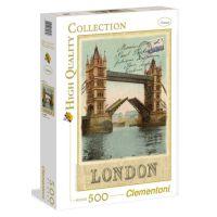 Clementoni Puzzle Londýn pohlednice 500 dílků