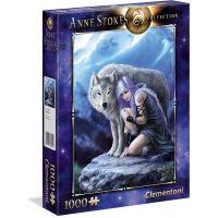 Clementoni Puzzle Anne Stokes 1000 dílků Ochránce