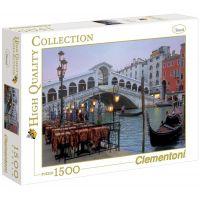Clementoni Puzzle Benátky Most Rialto 1500 dílků