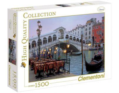 Clementoni Puzzle Benátky Most Rialto 1500d