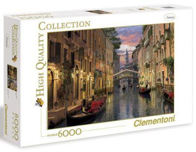 Clementoni 33C36517 - Puzzle 6000, Benátky