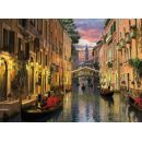 Clementoni 33C36517 - Puzzle 6000, Benátky 2