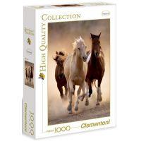 Clementoni 39168 - Puzzle 1000, Běžící koně
