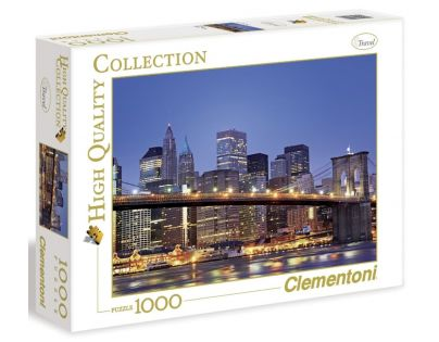 Clementoni 39199 - Puzzle 1000, Brooklyn