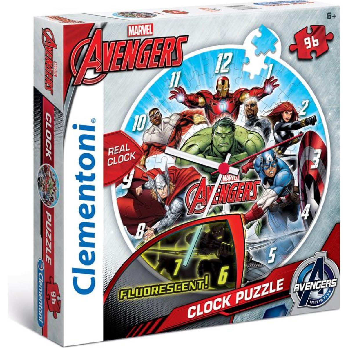 Clementoni Puzzle Clock Avengers 96d