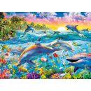 Clementoni 30170 - Puzzle 500, Tropical Dolphin 2