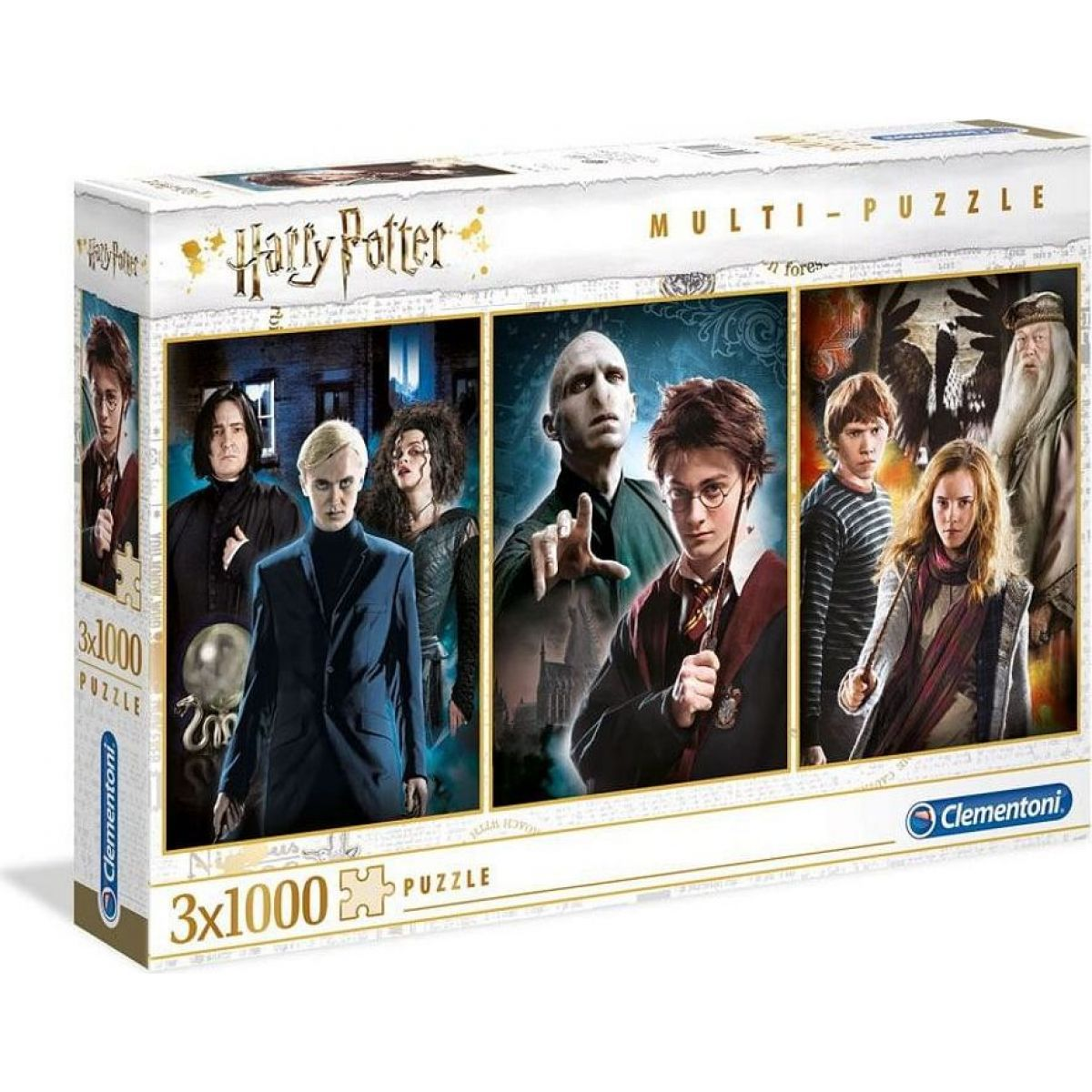 Clementoni Puzzle Harry Potter 1000X3 Harry