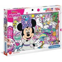 Clementoni Puzzle Jewels 104 dílků Minnie