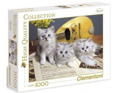 Clementoni 39059 - Puzzle 1000, Koťata