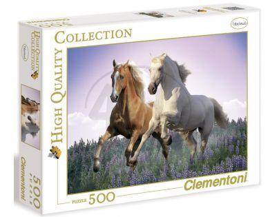 Clementoni 30287 - Puzzle 500, Koně