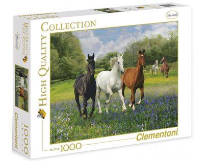 Clementoni 39255 - Puzzle 1000, Koně