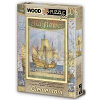 Clementoni 37039 - Puzzle korkové 500ks, Mayflower