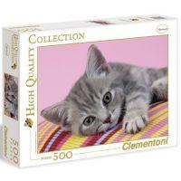 Clementoni 30362 - Puzzle 500, Kotě