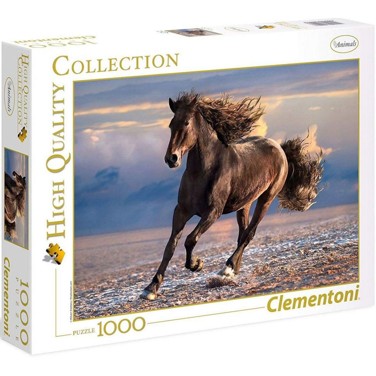 Clementoni Puzzle Kůň 1000 dílků
