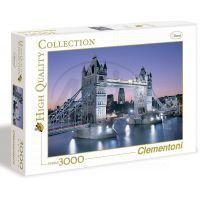 Clementoni Puzzle Londýn Most Bridge 3000 dílků