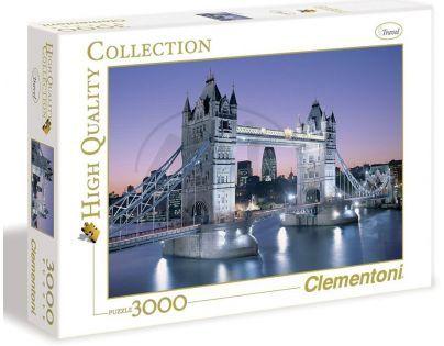 Clementoni Puzzle Londýn Most Bridge 3000d