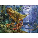 Clementoni 39261 - Puzzle Magic 3D 1000, Dinosaur Valley 2