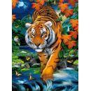 Clementoni Puzzle Magic 3D 1000 dílků Tygr 2