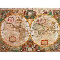 Clementoni Puzzle Mapa 1000d 2