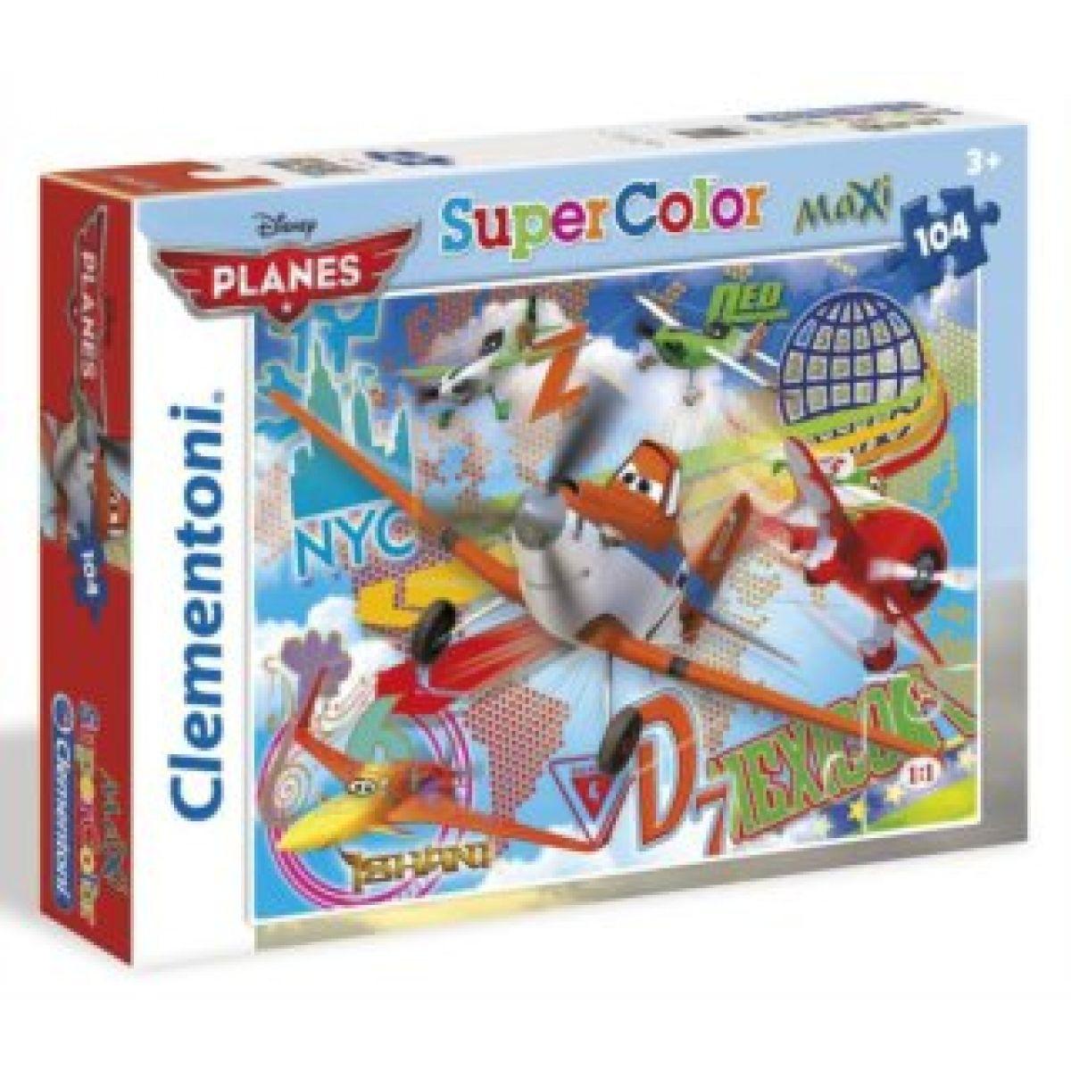 Clementoni Puzzle Maxi 24 dílků Letadla