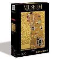Clementoni Puzzle Museum 500 dílků, Klimt Naplnění
