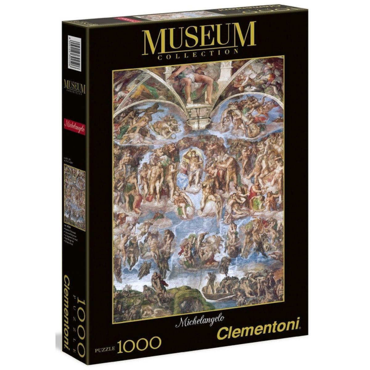 Clementoni Puzzle Museum Michelangelo Poslední soud 1000d