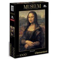 Clementoni 31413 - Puzzle Museum 1000, Leonardo-Mona Lisa