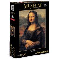 Clementoni 31974 - Puzzle Museum 1500, Leonardo-Mona Lisa