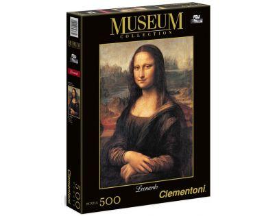 Clementoni 30363 - Puzzle Museum 500, Mona Lisa