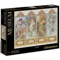 Clementoni 39177 - Puzzle Museum 1000, Mucha