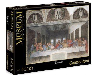 Clementoni 31447 - Puzzle Museum 1000, Leonardo de Vinci -  Poslední večeře