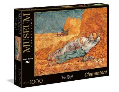 Clementoni Puzzle Museum Van Gogh La siesta 1000d