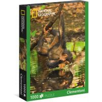 Clementoni Puzzle National Geographic Šimpanz 1000d