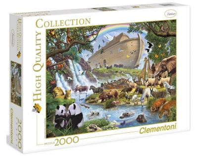 Clementoni 32550 - Puzzle 2000, Noemova archa