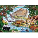 Clementoni 32550 - Puzzle 2000, Noemova archa 2
