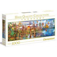Clementoni Puzzle Panorama 1000 dílků