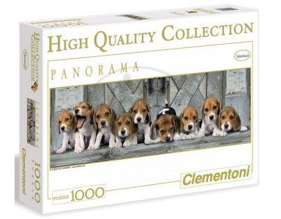 Clementoni 39076 - Puzzle Panorama 1000, Bíglové