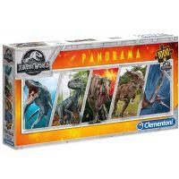 Clementoni Puzzle Panorama Jurský svět 1000 dílků