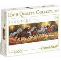 Clementoni 31300 - Puzzle Panorama 1000, Koně