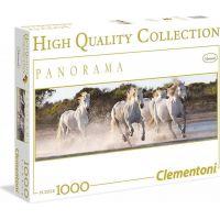 Clementoni Puzzle Panorama Koně 1000