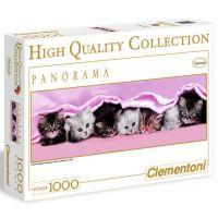 Clementoni Puzzle Panorama 1000 Koťata