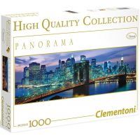 Clementoni Puzzle Panorama New York Brooklyn 1000 dílků