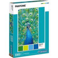 Clementoni Puzzle Pantone Páv modrý 1000 dílků