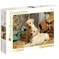Clementoni Puzzle 1500 dílků Psi