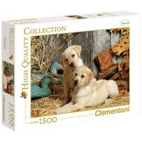 Clementoni 31976 - Puzzle 1500, Psi