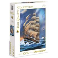 Clementoni 33C31481 - Puzzle 1000,Plachetnice