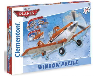 Clementoni Puzzle Planes-Dusty na okna 60 dílků